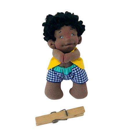 Boneco de pano Minidolls Noah