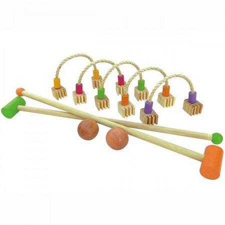 Brinquedo de madeira - Trakoball