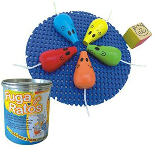 Brinquedo de madeira - Fuga dos ratos