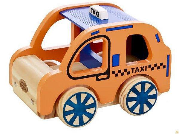 Coleção Carrinhos - Táxi