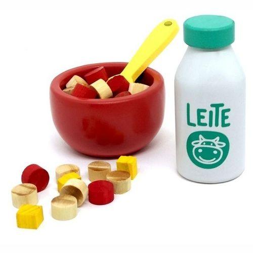 Coleção comidinhas! Kit Cereais - bandeja amarela
