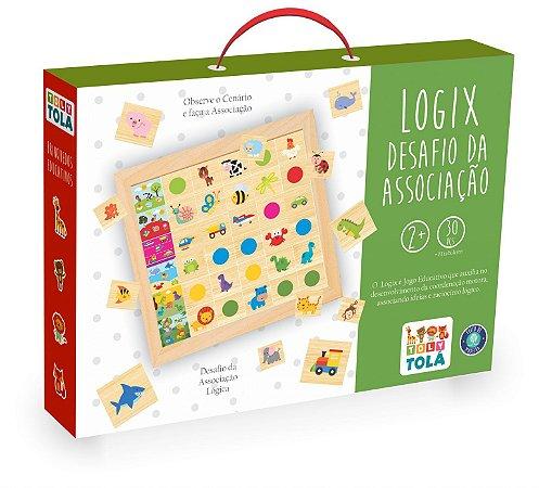 Jogo Educativo - Logix Desafio da Associação lógica