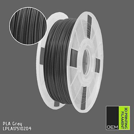 Filamento PLA OEM 3DPF Cinza