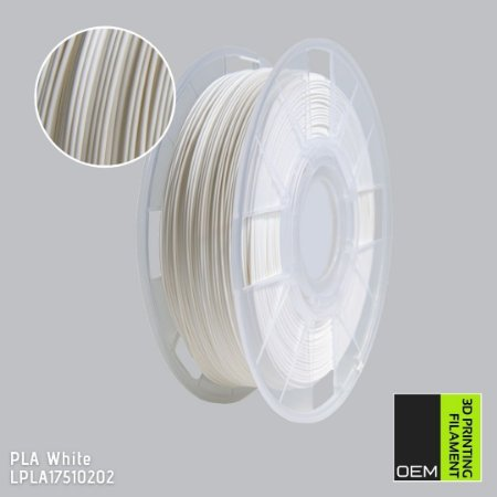 Filamento PLA OEM 3DPF Branco