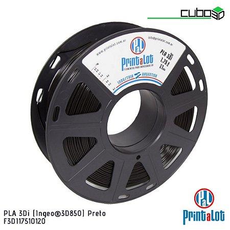 Filamento PrintaLot PLA 3Di Preto