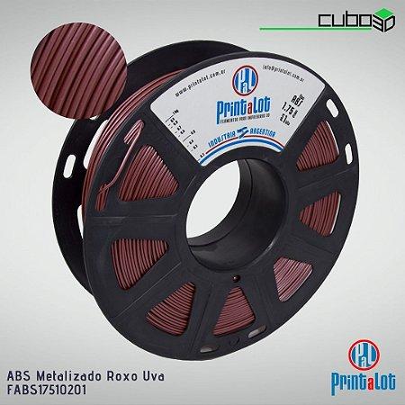 Filamento ABS PrintaLot Metalizado Roxo Uva