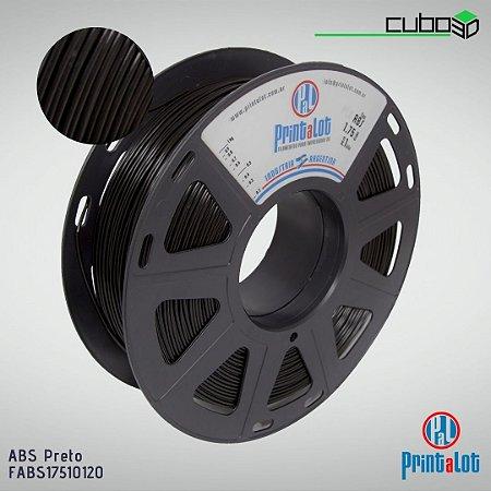 Filamento ABS PrintaLot Preto