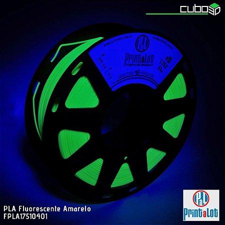 Filamento PLA PrintaLot Fluorescente Amarelo