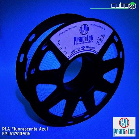 Filamento PLA PrintaLot Fluorescente Azul