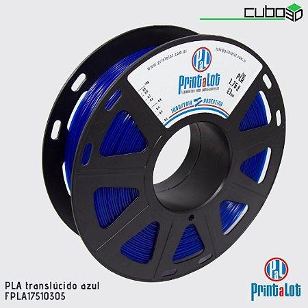 Filamento PLA PrintaLot Azul Translúcido