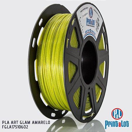 Filamento PrintaLot PLA ART GLAM Amarelo