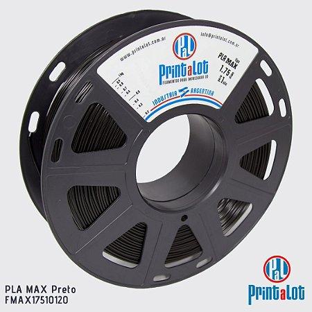 Filamento PrintaLot PLA MAX Preto