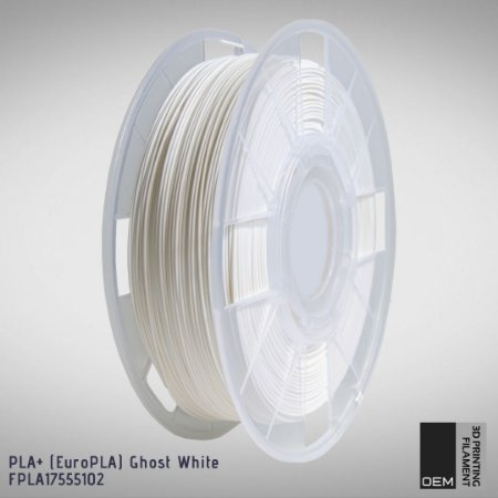 Filamento PLA+ (Euro PLA) OEM 3DPF Branco