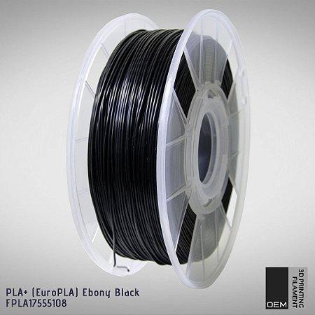 Filamento PLA+ (Euro PLA) OEM 3DPF Preto