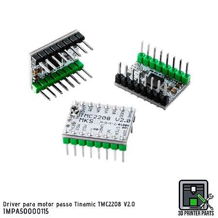 Driver para motor de passo Trinamic TMC2208 V2.0