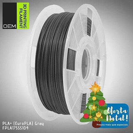 Filamento PLA+ (Euro PLA) OEM 3DPF Cinza