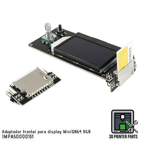 Adaptador frontal para display LCD Mini12864 RGB