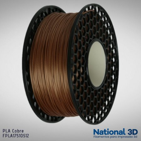 Filamento PLA National3D Cobre