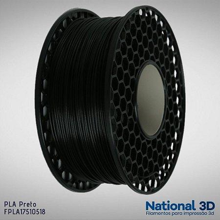 Filamento PLA National3D Preto