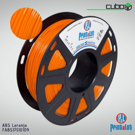 Filamento ABS PrintaLot Laranja