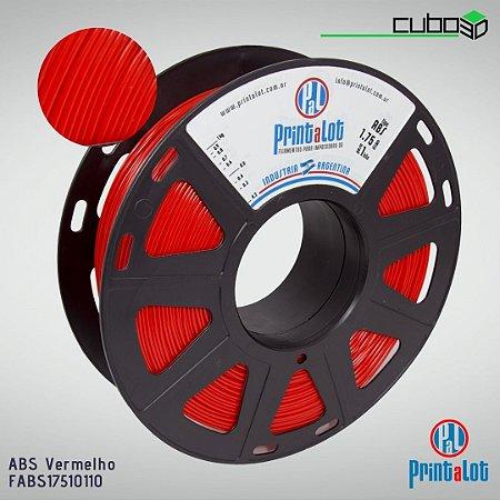 Filamento ABS PrintaLot Vermelho
