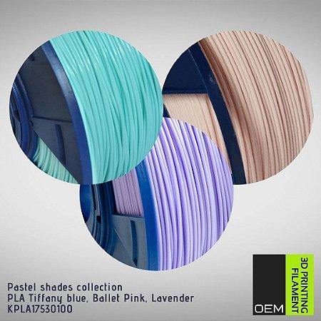 Kit Filamento PLA OEM 3DPF - Pastel shades collection