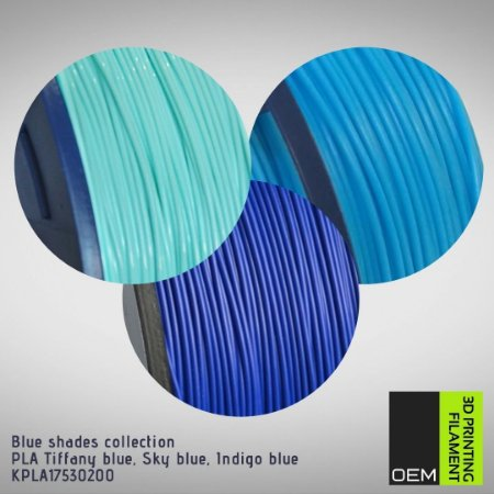 Kit Filamento PLA OEM 3DPF - Blue shades collection
