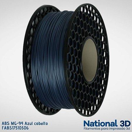 Filamento ABS MG-94 National3D Azul cobalto
