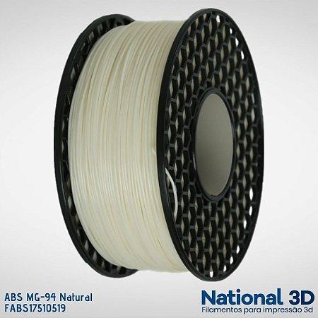 Filamento ABS MG-94 National3D Natural