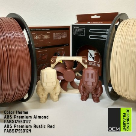 Filamento ABS Premium OEM 3DPF Telha