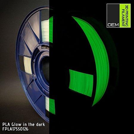 Filamento PLA OEM 3DPF Glow in the dark