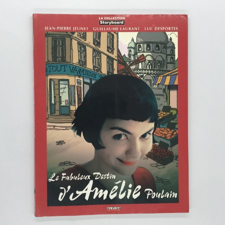 Storyboard Amelie Poulain (em francês) | Bazar das Pocs