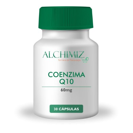 Coenzima Q10 60mg - 30 cápsulas