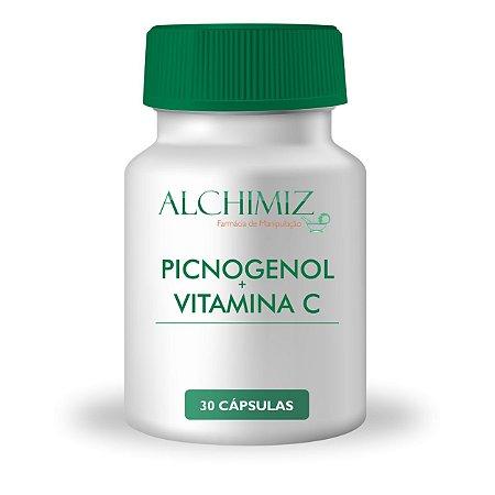 Picnogenol 75mg + Vitamina C 500mg - 30 cápsulas
