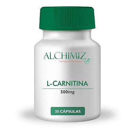 L-Carnitina 500mg - 60 cápsulas