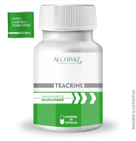 Teacrine 100mg - 30 Cápsulas
