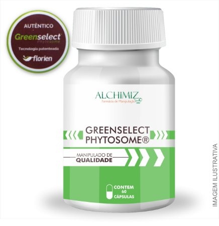 Greenselect Phytosome 120mg R$93,90 - 60 cápsulas