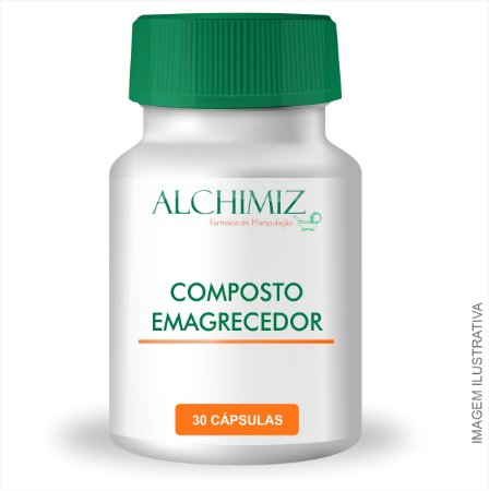 Nova Fórmula - Compostos Emagrecedores 30 Cápsulas Morosil® 500mg, Ilex Paraguariensis 150mg, Picolinato de Cromo 150mcg, Faseolamina  300mg, Ioimbina  2,5mg, Aloína 20mg, 5-Hidroxitriptofano (5-HTP) 150mg