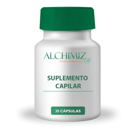 Suplemento Capilar (Biotina 5 mg + Zinco 15 mg) 30 cápsulas