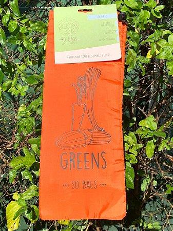 sacos reutilizáveis Sobags Greens Sempre Fresco Laranja (para legumes)