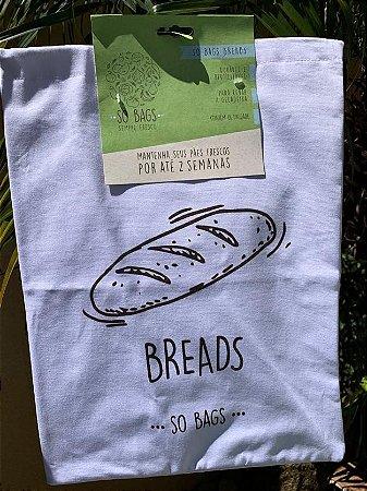 sacos reutilizáveis Sobags Breads Sempre Fresco