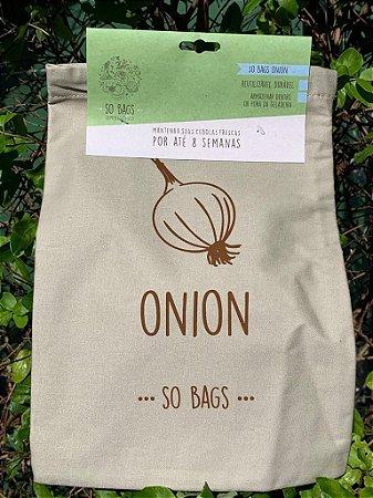 sacos reutilizáveis Sobags Onion Sempre Fresco