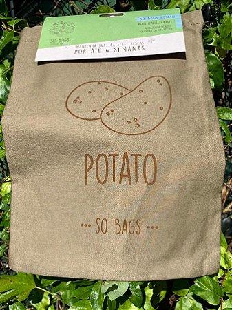 Saco Ecológico Para Conservar Legumes na Geladeira - So Bags Potato