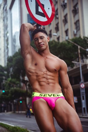Jock Neón Green/Pink
