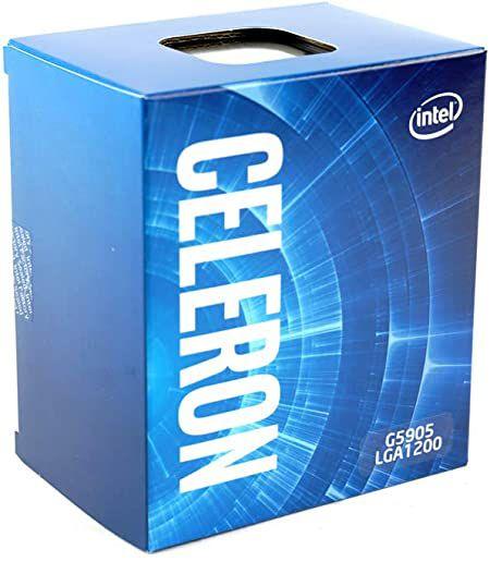 Processador Intel Celeron G5905 1200 3.5GHz 4MB Cache BX80701G5905