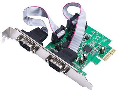 Placa PCI-E 2 Portas Serial DB9 3.0 JPSS-02 FEASSO