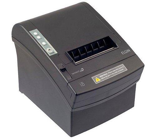 Impressora Térmica Não Fiscal I8 USB ETHERNET SERIAL c/Guilhotina Bematech Elgin