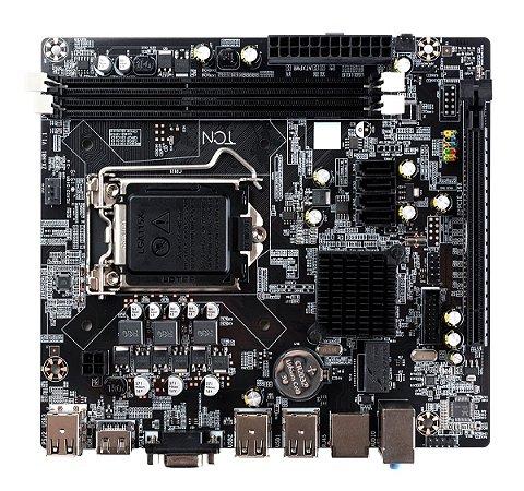 Placa Mãe LGA 1155 GTH61 Micro ATX 16GB FAST/100 HDMI/VGA GT-H61 Goldentec