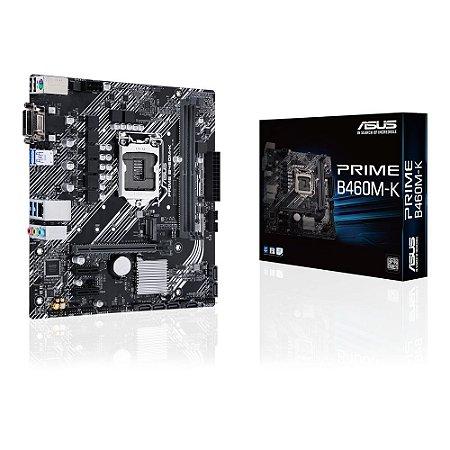 Placa Mãe Asus Prime LGA 1200 mATX B460M-K DDR4 M.2 10th Intel