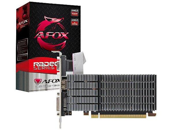 Placa de Vídeo AMD Radeon R5 220 1GB DDR3 DVI/HDMI/VGA AFOX AFR5220